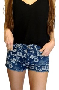 AG Adriano Goldschmied Cut Off Shorts Denim