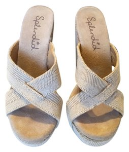 Splendid Beige Wedges