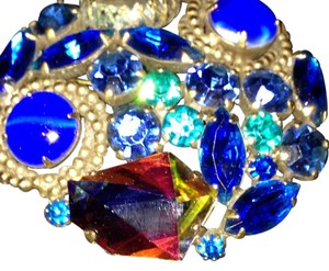 Other Weiss Jewel Tone Brooch