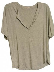 Gap Dolman Casual Sleeve Lightweight T Shirt Gray