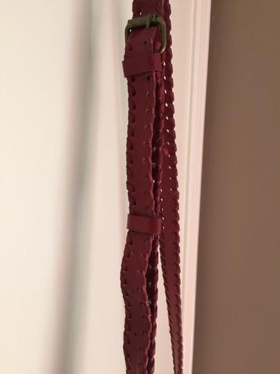 Ecote Embossed Leather Cross Body Bag Image 5