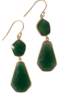 Argento Vivo Jade Long Dangle Earrings