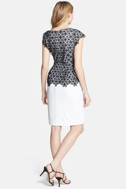 Adrianna Papell Contrast Size 2 Dress