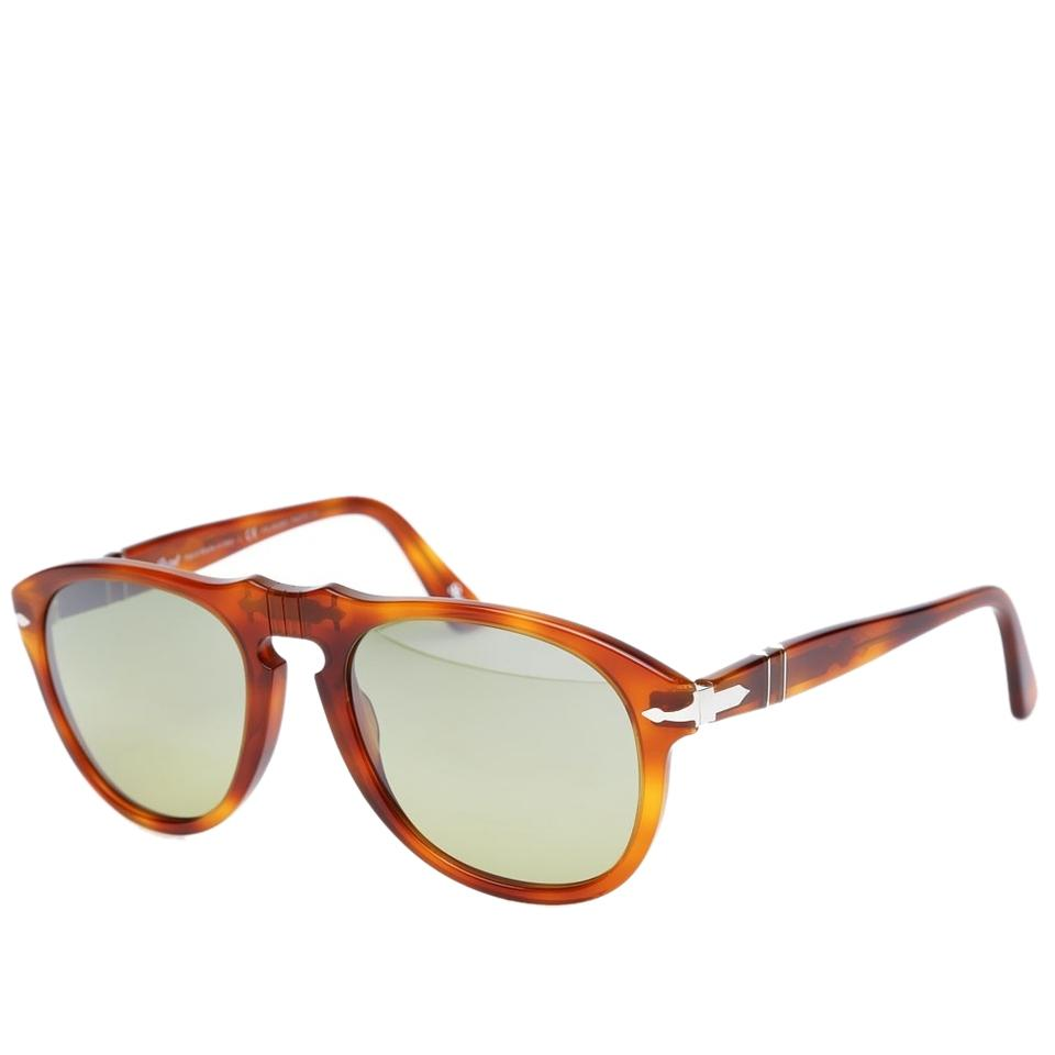 Persol 54 Brownterra Steve Sunglasses Photochromic Di Mcqueen Retro Honey Siena649 Polarized Vintage KFlJcuT351