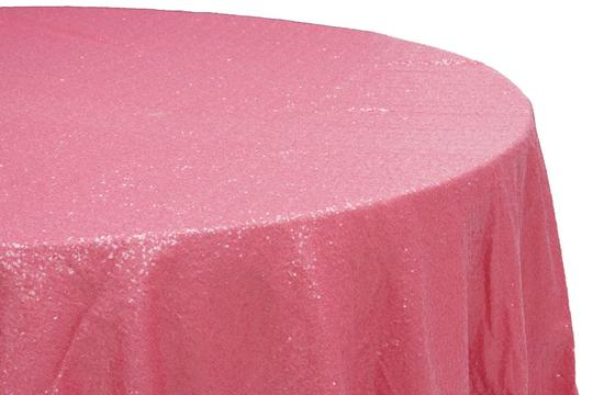 2 x sequins 120 round tablecloth coral 52 off for Tablecloth 52 x 120