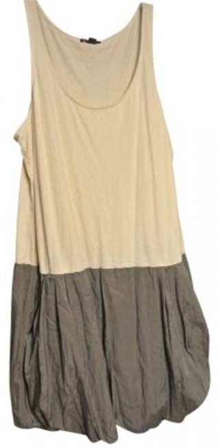 Preload https://img-static.tradesy.com/item/145734/gap-gray-cream-bubble-skirt-sleeveless-color-block-mini-short-casual-dress-size-16-xl-plus-0x-0-0-650-650.jpg