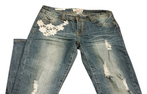 Hot Kiss Skinny Jeans-Distressed