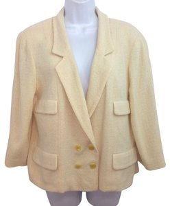 Chanel Beige Jacket Blazer