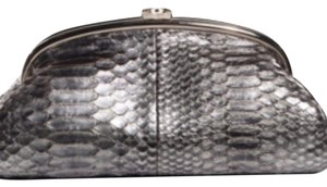 Chanel Evening Silver Clutch