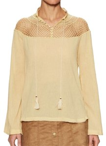 Free People Top Tea cream