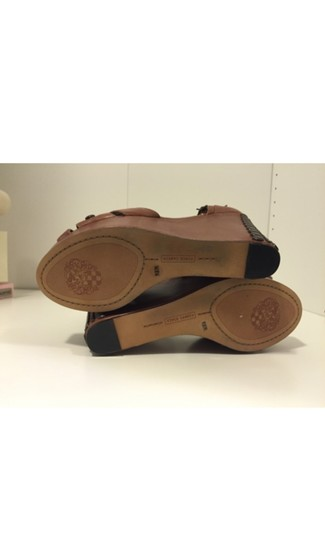 Vince Camuto Brown Wedges Image 1