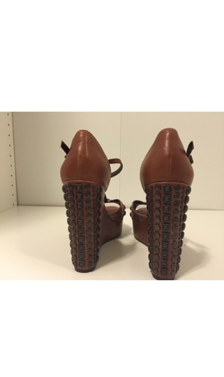 Vince Camuto Brown Wedges Image 2