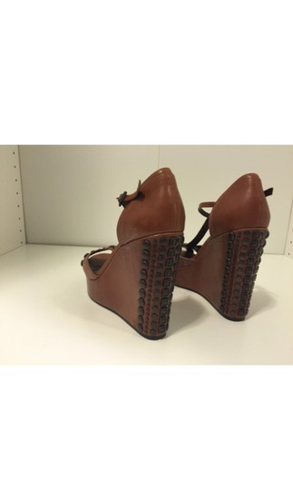 Vince Camuto Brown Wedges Image 5