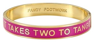 Kate Spade Kate Spade It Takes Two to Tango Bracelet NWT Idiom Pink Add Pop to a Stack!