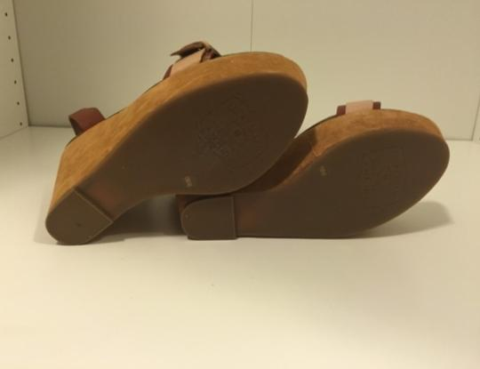 Lucky Brand Nude Wedges Image 5
