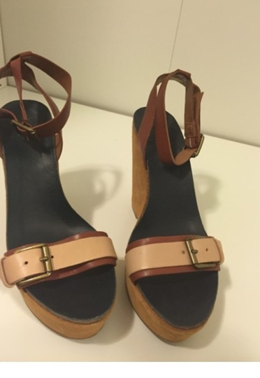 Lucky Brand Nude Wedges Image 6