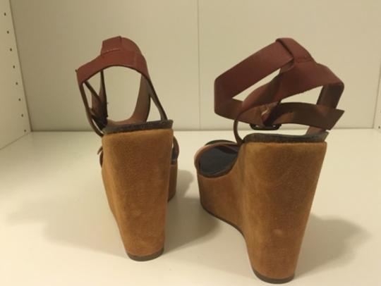 Lucky Brand Nude Wedges Image 7