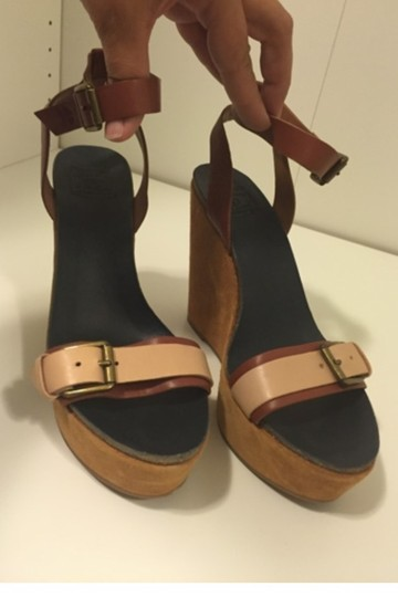 Lucky Brand Nude Wedges Image 8