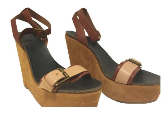 Lucky Brand Nude Wedges Image 9