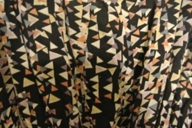 Forever 21 short dress Multicolored Triangle Print Mini on Tradesy