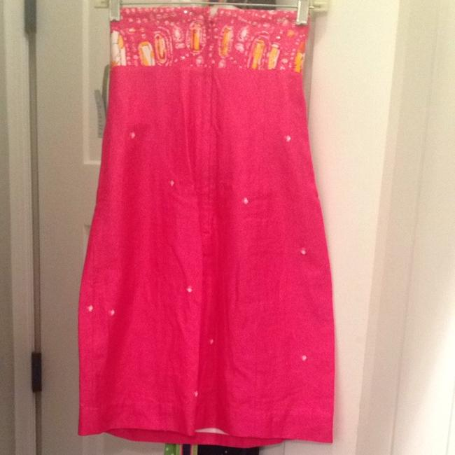 Lilly Pulitzer short dress Pink Limited Edition European Leather on Tradesy