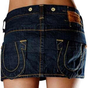 True Religion Mini/Short Shorts Blue