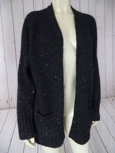 J. Jill Petite Wool Poly Acrylic Mohair Nylon Blend Sequins Chic Sweater