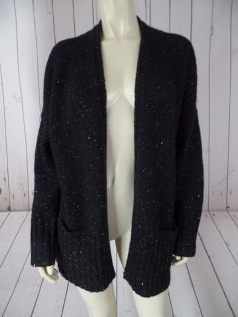 J. Jill Petite Poly Acrylic Mohair Nylon Blend Sequins Chic Sweater Image 1