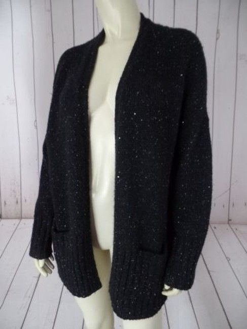 J. Jill Petite Poly Acrylic Mohair Nylon Blend Sequins Chic Sweater Image 2