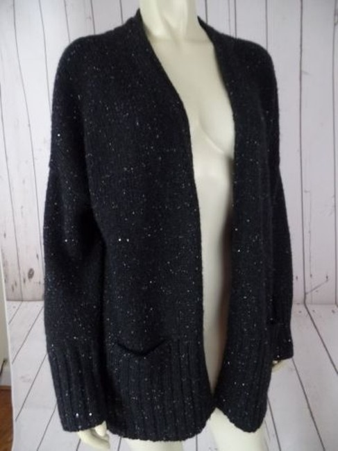 J. Jill Petite Poly Acrylic Mohair Nylon Blend Sequins Chic Sweater Image 6