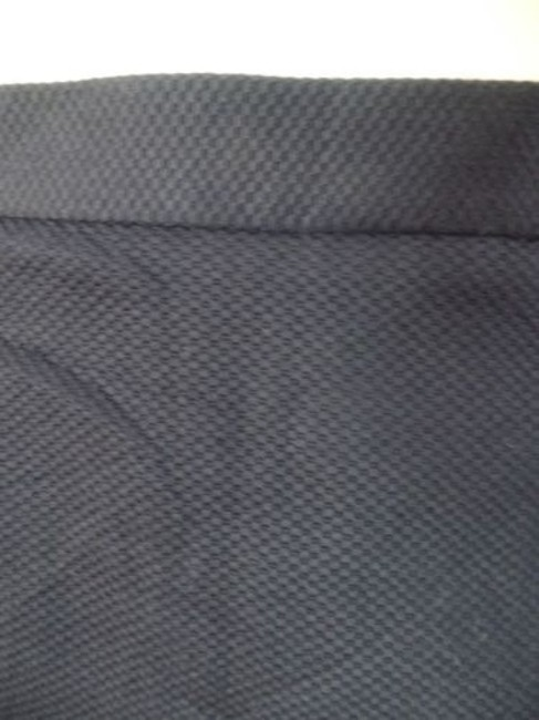 Other Talbots Petites Stretch Cotton Lycra Textured Blend Straight Chic Skirt Navy Blue Image 4