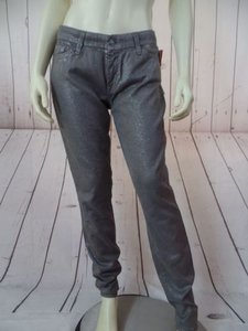 7 For All Mankind Seven Skinny Stretch Low Rise Hot Pants