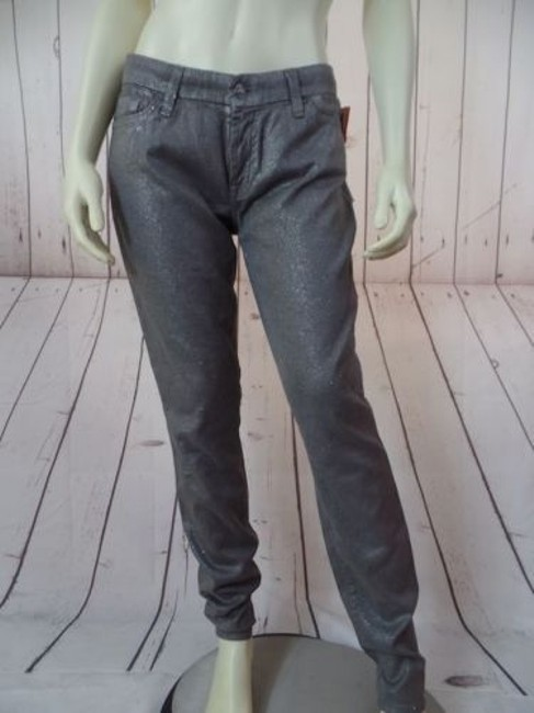 Preload https://img-static.tradesy.com/item/14574871/seven-for-all-mankind-skinny-pants-gray-sparkle-stretch-low-rise-hot-0-0-650-650.jpg
