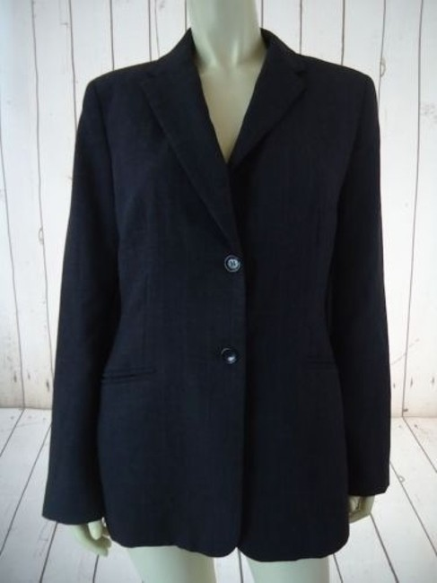 Preload https://img-static.tradesy.com/item/14574916/ann-taylor-blazer-dark-gray-heather-fine-stripe-wool-blend-lightweight-classy-0-0-650-650.jpg