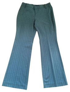 Gap Trouser Pants Gray/Pinstripe
