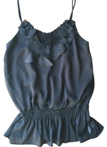 Other Chiffon Camisole Dressy Strappy Top Black