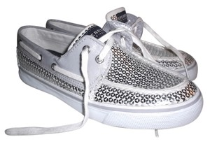 Sperry silver Athletic