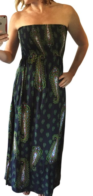 Preload https://img-static.tradesy.com/item/14577757/xhilaration-green-multi-strapless-sundress-long-casual-maxi-dress-size-4-s-0-1-650-650.jpg
