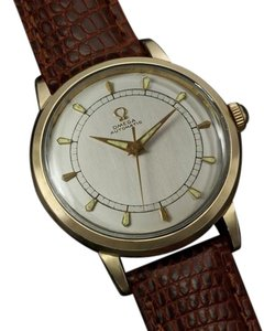 Omega 1954 Omega Vintage Mens Mid Century Watch, Automatic, Waterproof - 14K Gold Filled
