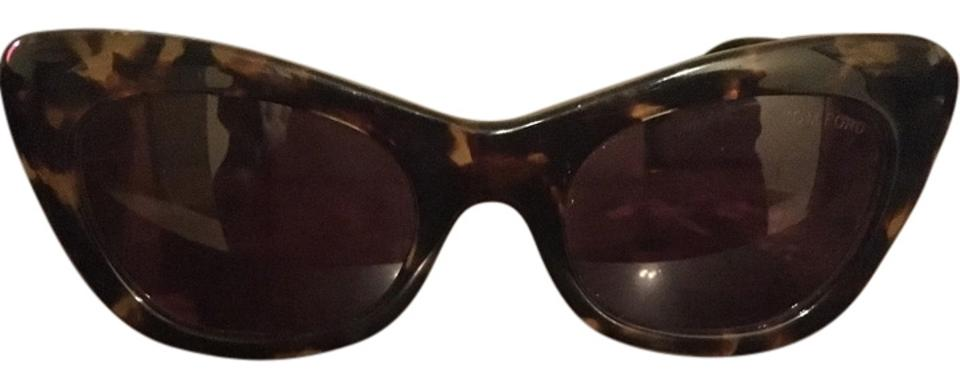 0a2240e337511 Tom Ford Black   Brown Women s Sunglasses - Tradesy