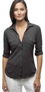 James Perse Button Down Shirt Ink