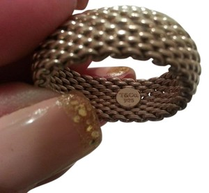 Tiffany & Co. Tiffany & Co. Sterling Silver Somerset Mesh Dome Ring - Size 10
