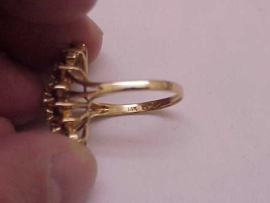 Other Estate Vintage 14k Yellow Gold Ring: 2.00cts Diamonds & Rubies Image 4