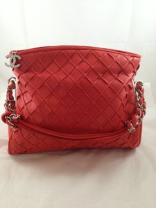 Chanel Lamb Skin Hobo Bag