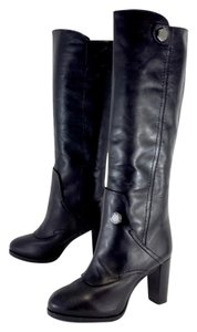 Marc by Marc Jacobs Black Leather Tall Boots