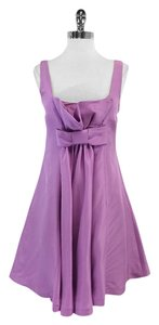 Tracy Reese short dress Lavender Silk Waist Bow on Tradesy