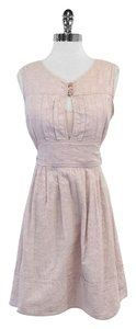 Marc by Marc Jacobs short dress Lilac Floral Embossed Cotton on Tradesy