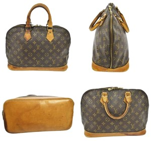 Louis Vuitton Satchel in Tan Brown