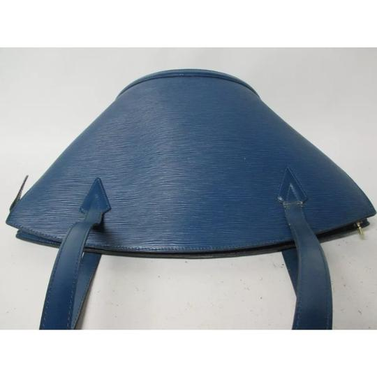 Louis Vuitton Tote in Royal Blue Image 2
