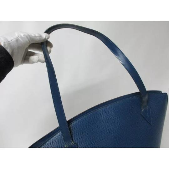 Louis Vuitton Tote in Royal Blue Image 5